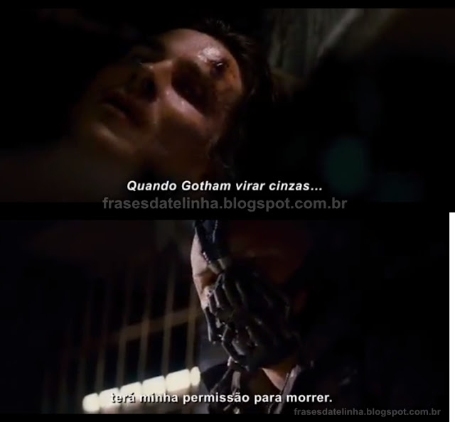 Frases Batman O Cavaleiro das Trevas Ressurge