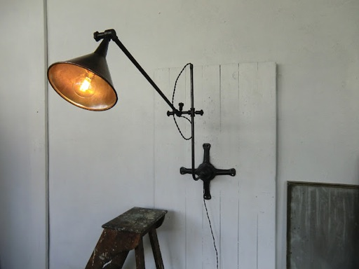 Wo and w collection lampe murale industrielle bras - Lampe murale industrielle ...