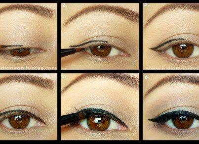 Seducciona blog como hacer facilmente la raya del ojo - Como deshacer un mal de ojo ...