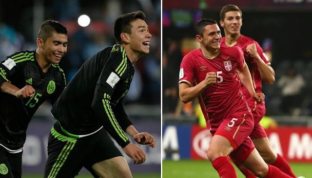 Mexico vs Serbia en vivo
