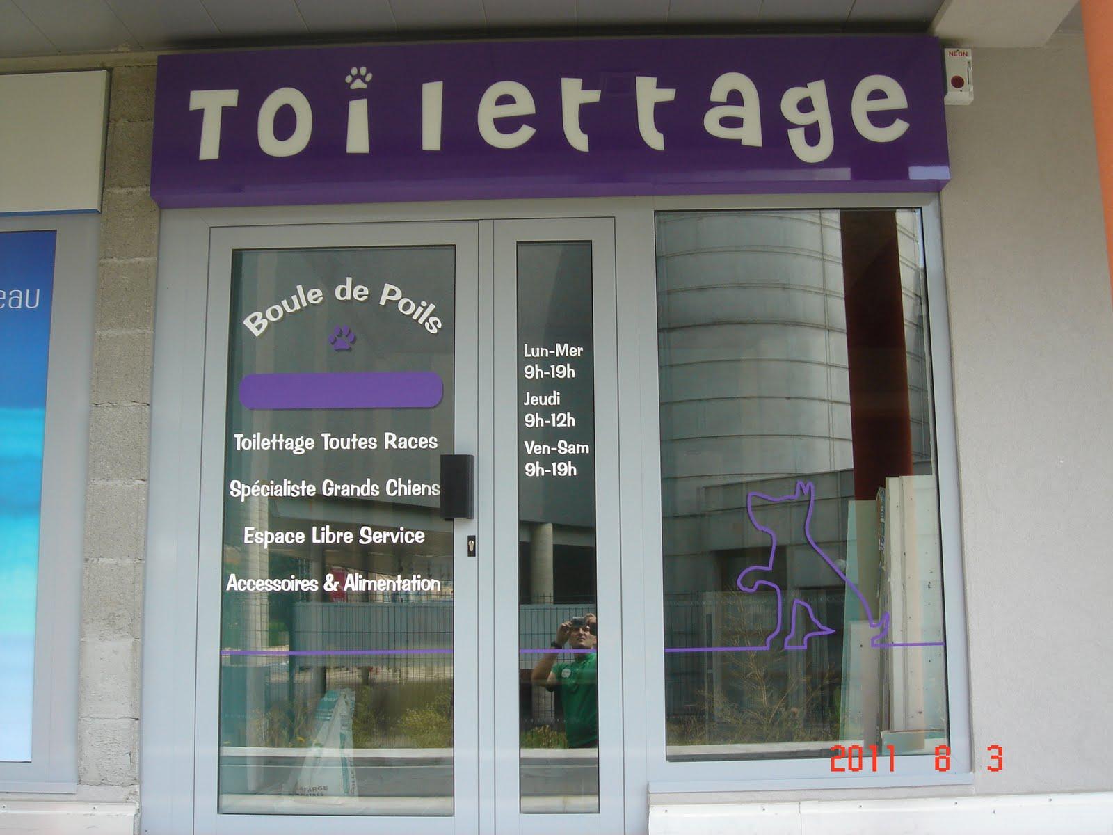 Lyon enseignes blog enseigne salon de toilettage - Ouvrir un salon de toilettage ...