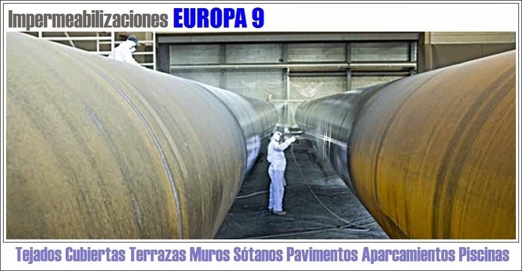 Europa 9 empresa impermeabilizaciones con sika en for Productos para impermeabilizar terrazas transitables