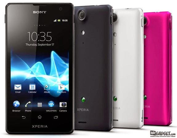 Harga Smartphone Sony Xperia TX Terbaru