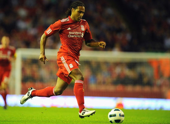 johnson ready for the match liverpool against manchester united