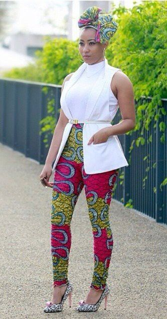 Mixed Styles Ankara And Western Top The Click Styles