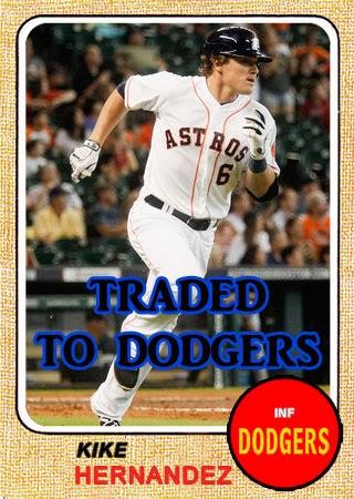 Dodgers Blue Heaven: Welcome to the Blue, Kike Hernandez!
