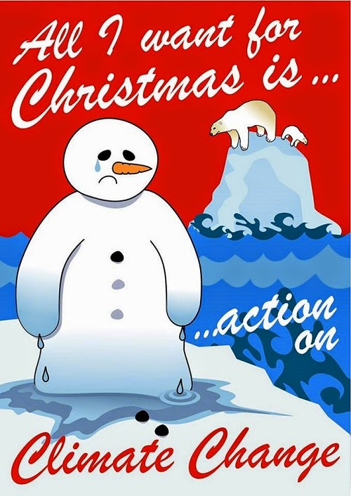 All I want for Christmas is action on Climate Change (Credit: www.facebook.com/iheartcomsci)