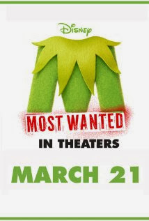 Movie poster featuring a M which appears to be made out of the same felt as Kermit the Frog.