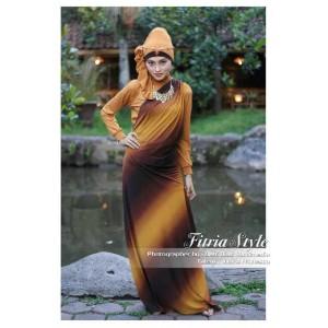 Jilbab modern model Busana Muslim Baju Muslim Wanita  Dress GREENDESIA vanhouten baby dengan Manset dan Pasmina jilbab modern