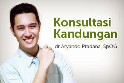 dr Aryando Pradana, SpOG. Dokter Spesialis Kandungan RSIA Bunda Menteng dan Klinik Bayi Tabung