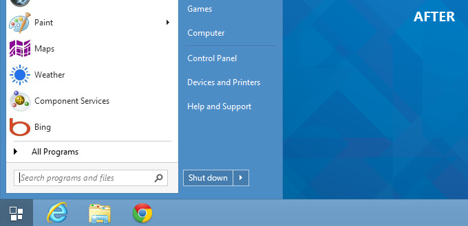 Aktifkan Start Menu Pada Windows 8