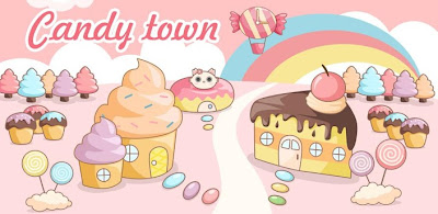 Candy Town GO Super Theme 1.0 Apps Apk For Android | Apps For Android