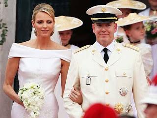 9 Charlene Wittstock & Príncipe Albert de Mônaco