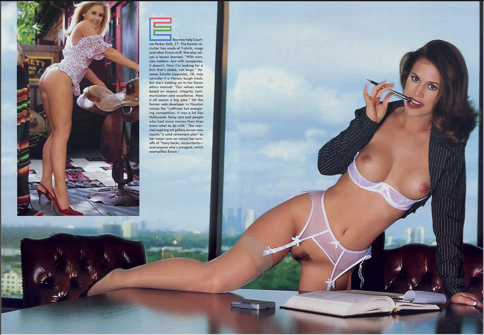 nudes Enron playboy