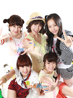 韓國女團Kara SonyEricsson手機主題for Elm/Hazel/Yari/W20﹝240x320﹞