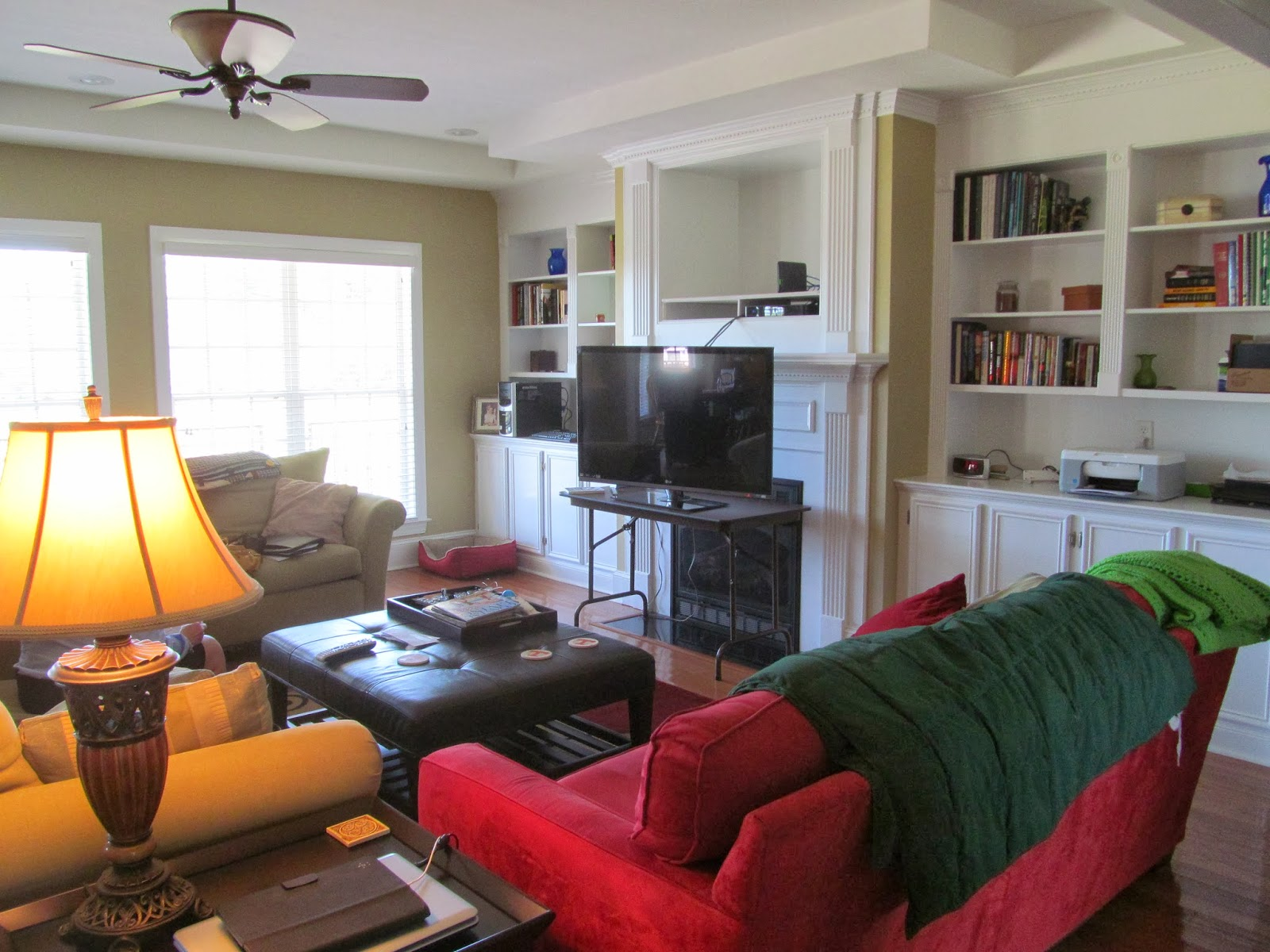 Family Room Makeover Before And After Photos