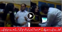 Pakistani Civil Judge caught dancing in a Party