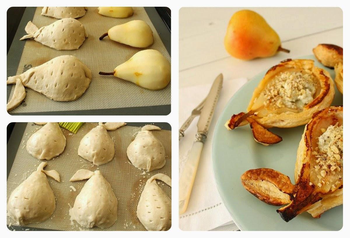 Рецепт груши в тесте