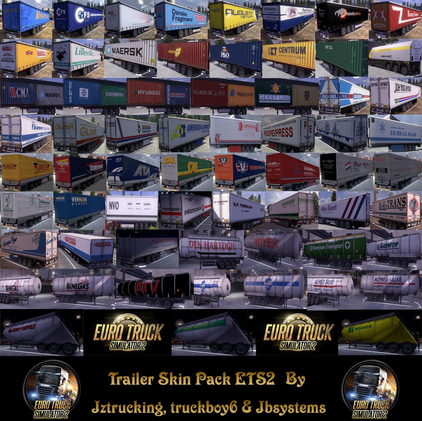 Pack de Skins de Trailers para la versión 1.3.1