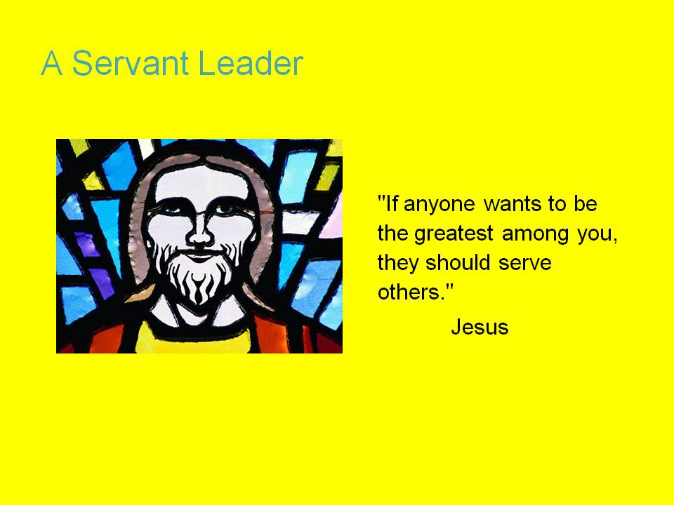 jesus as a model for leadership Welcome to reflections on leadership reflections on leadership is the second lesson in the growing the servant heart on-line programme for christian leaders it's part two of the jesus model module.