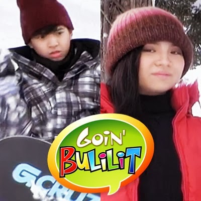 Nash and Sharlene in Goin' Bulilit (Japan)