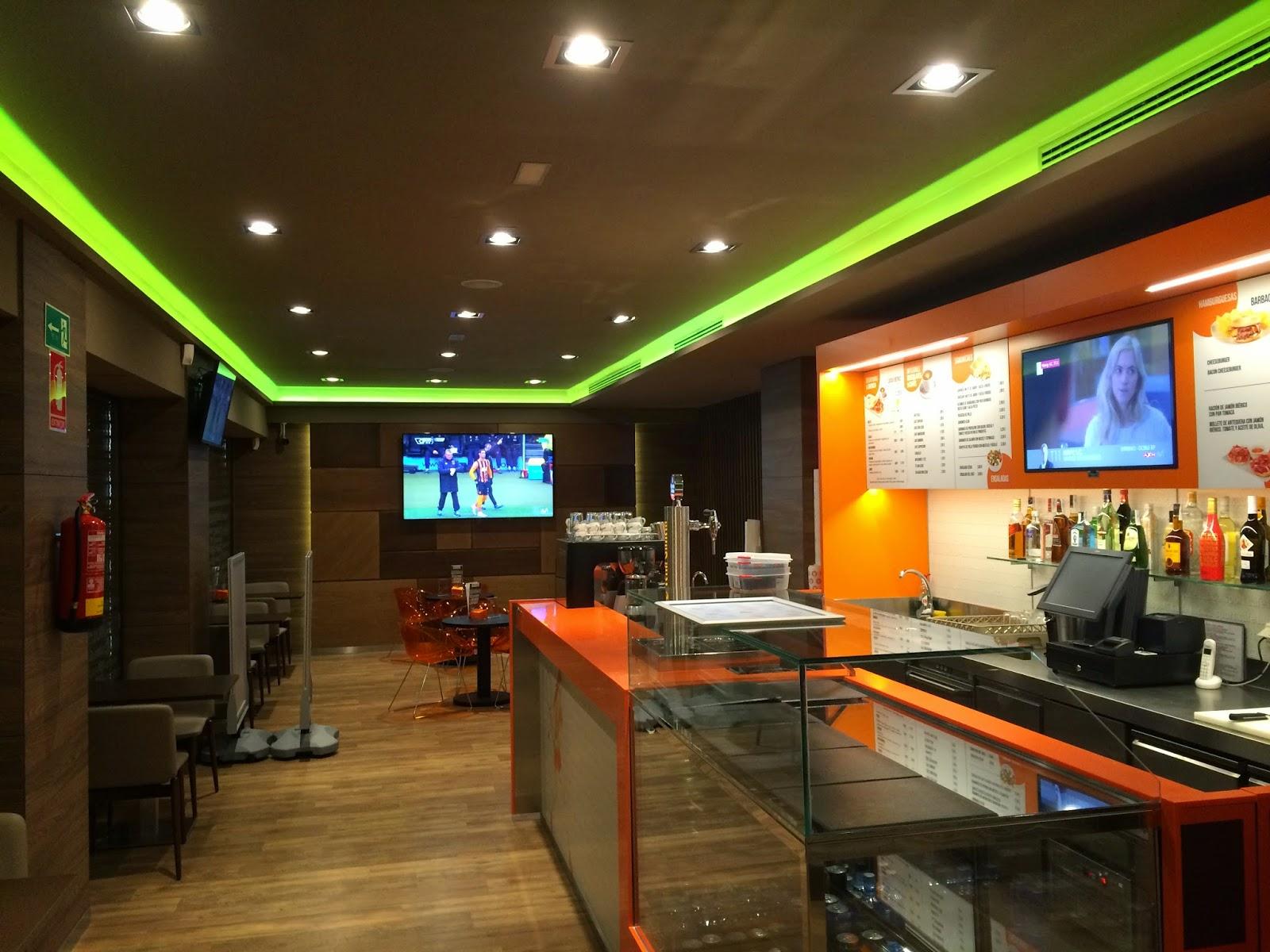 Ebled Iluminacion Luckia Sport Cafe Madrid Valencia