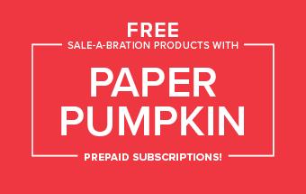 Paper Pumpkin Special