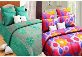 100% Cotton Bedsheet Combos (Pack of 2) worth Rs.2396 for Rs.549 Only @ Paytm (Rs.250 Cashback)