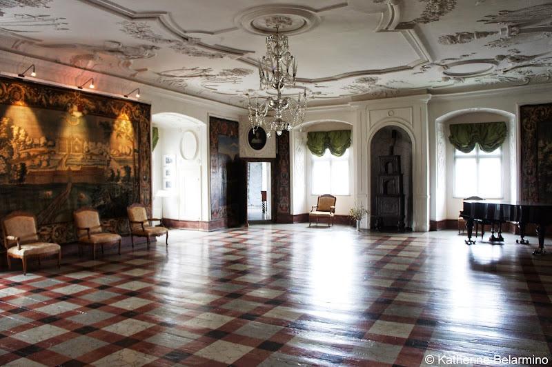 Gammel Estrup Great Hall Denmark