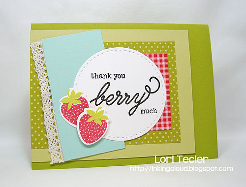 Thank You Berry Much card-designed by Lori Tecler/Inking Aloud