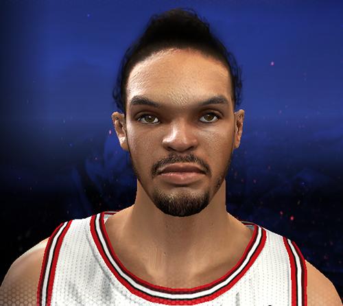 NBA 2K14 Joakim Noah Cyberface Mod