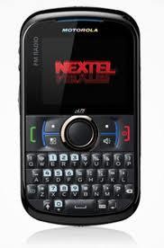Todo sobre el Nextel Motorola Txter i475