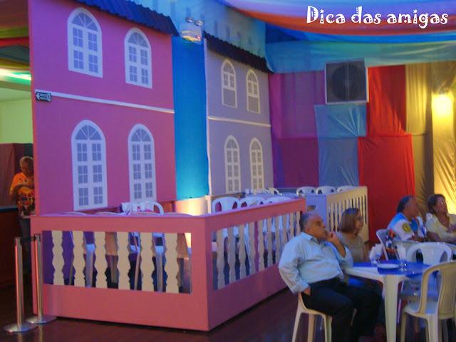 Decoração Carnaval Círculo Militar de Campinas