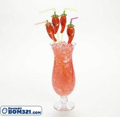 Pelbagai Bentuk Penyedut Minuman Yang Kreatif
