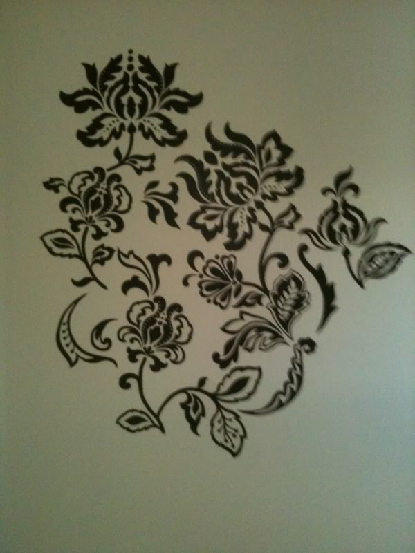 decorating diva tips steps in wall mural stencilling how to use a projector to paint your own wall mural