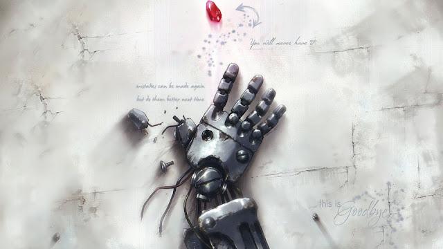 Fullmetal Alchemist Automail Hand Wallpaper 0005
