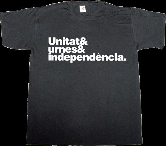 independence referendum 9n assemblea nacional catalana anc omnium catalonia freedom t-shirt ephemeral-t-shirts