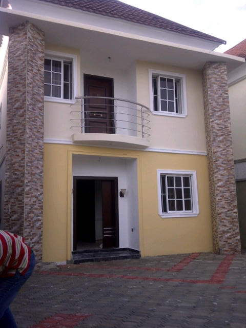 AFFORDABLE LANDS IN NIGERIA: BRAND NEW 4 BEDROOM DUPLEX ...