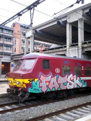 Fat SK graffiti