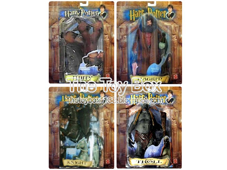 Best Harry Potter Toys And Figures : The toy box harry potter and sorcerer s stone mattel