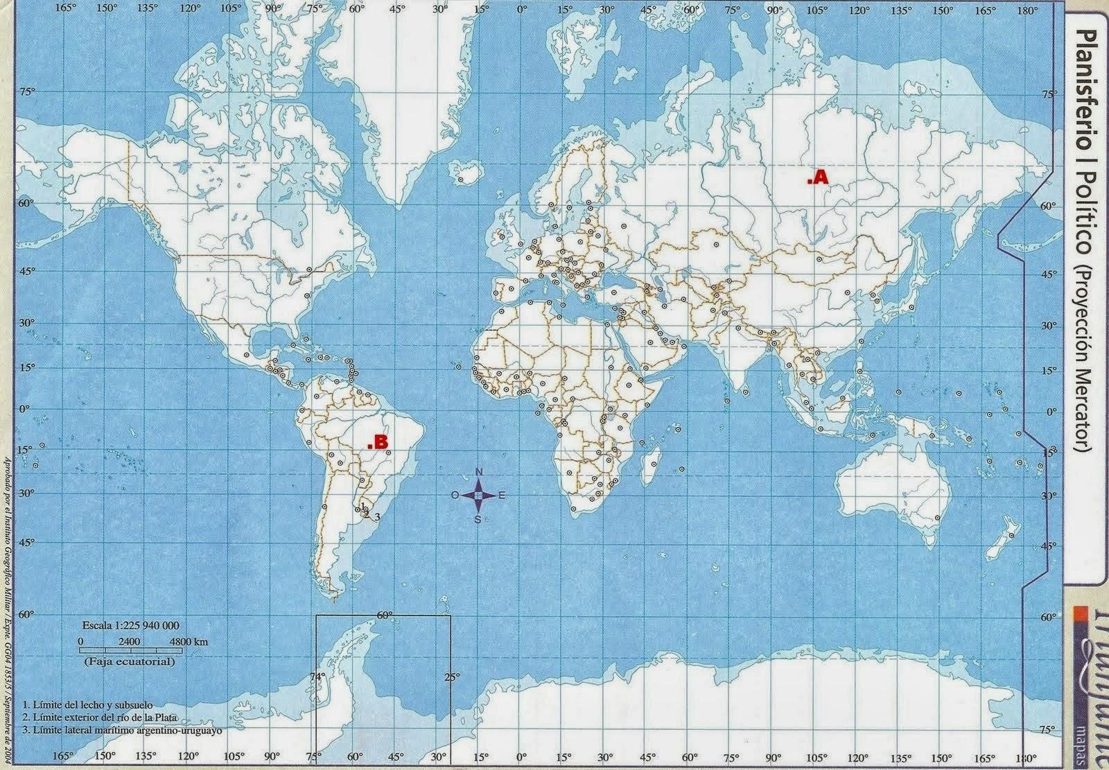 Geografa de Mxico y del Mundo TEMA COORDENADAS GEO