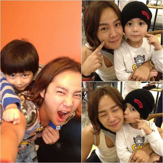 Jang Geun Suk reunites with baby Moon Mason | Daily K Pop News