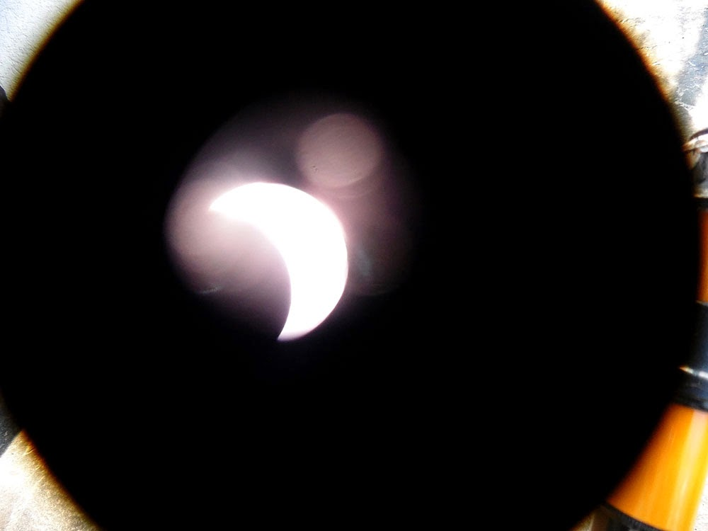 photos of the Solar Eclipse 20.05.2015  by Andie Gilmour