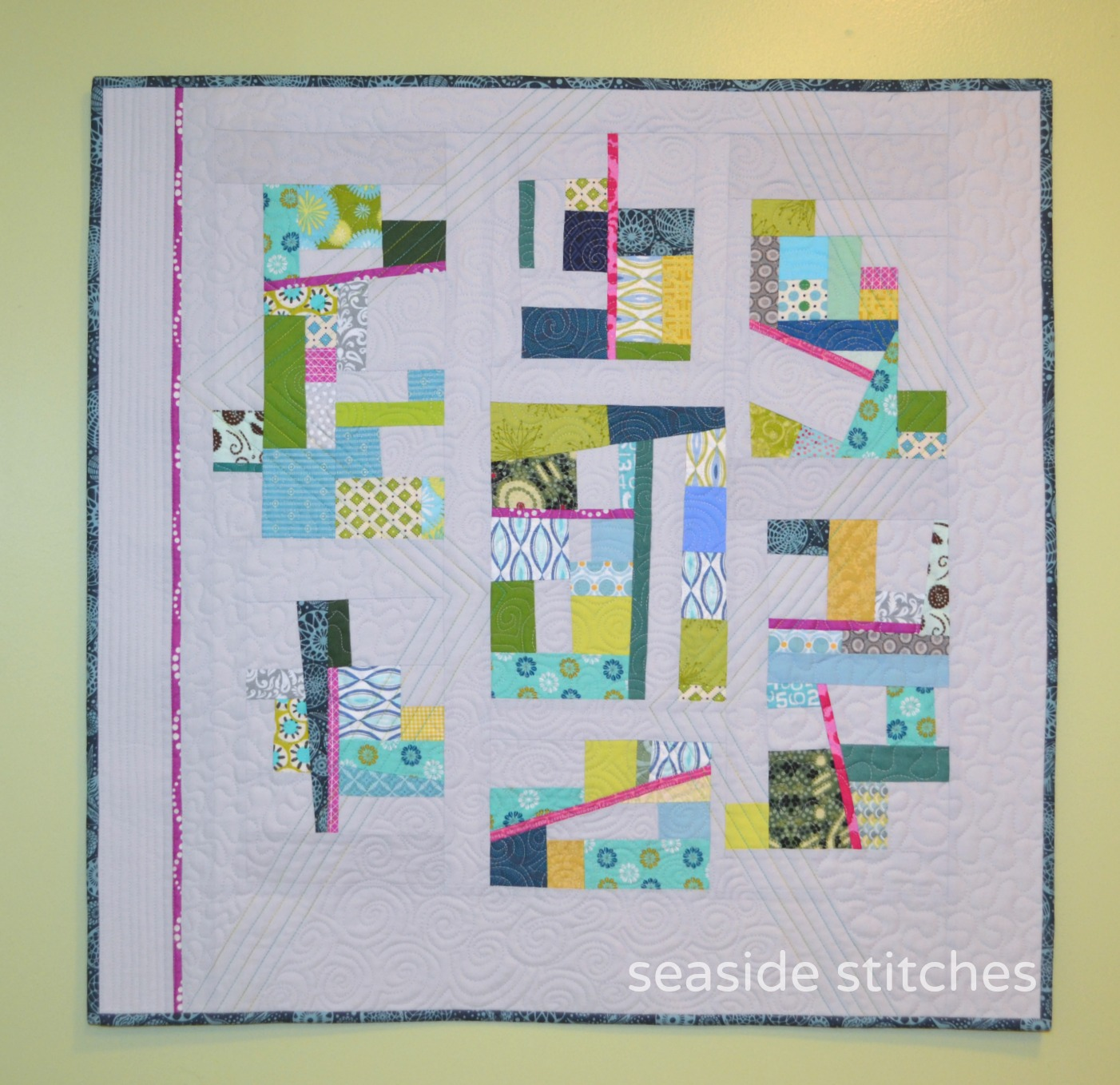 Seaside Stitches Improv With Jacquie