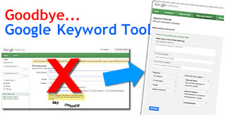 Google Keyword Tool Replaced by Keyword Planner