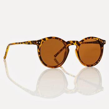 Leopar Desenli Gözlük