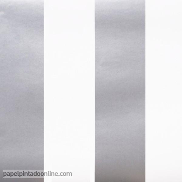 Papel pintado papel pintado a buen precio for Papel de rayas para pared