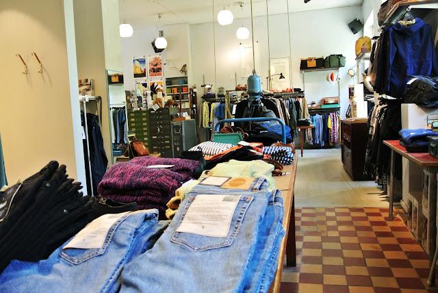 Stockholm Sweden Vintage Shop Grandpa