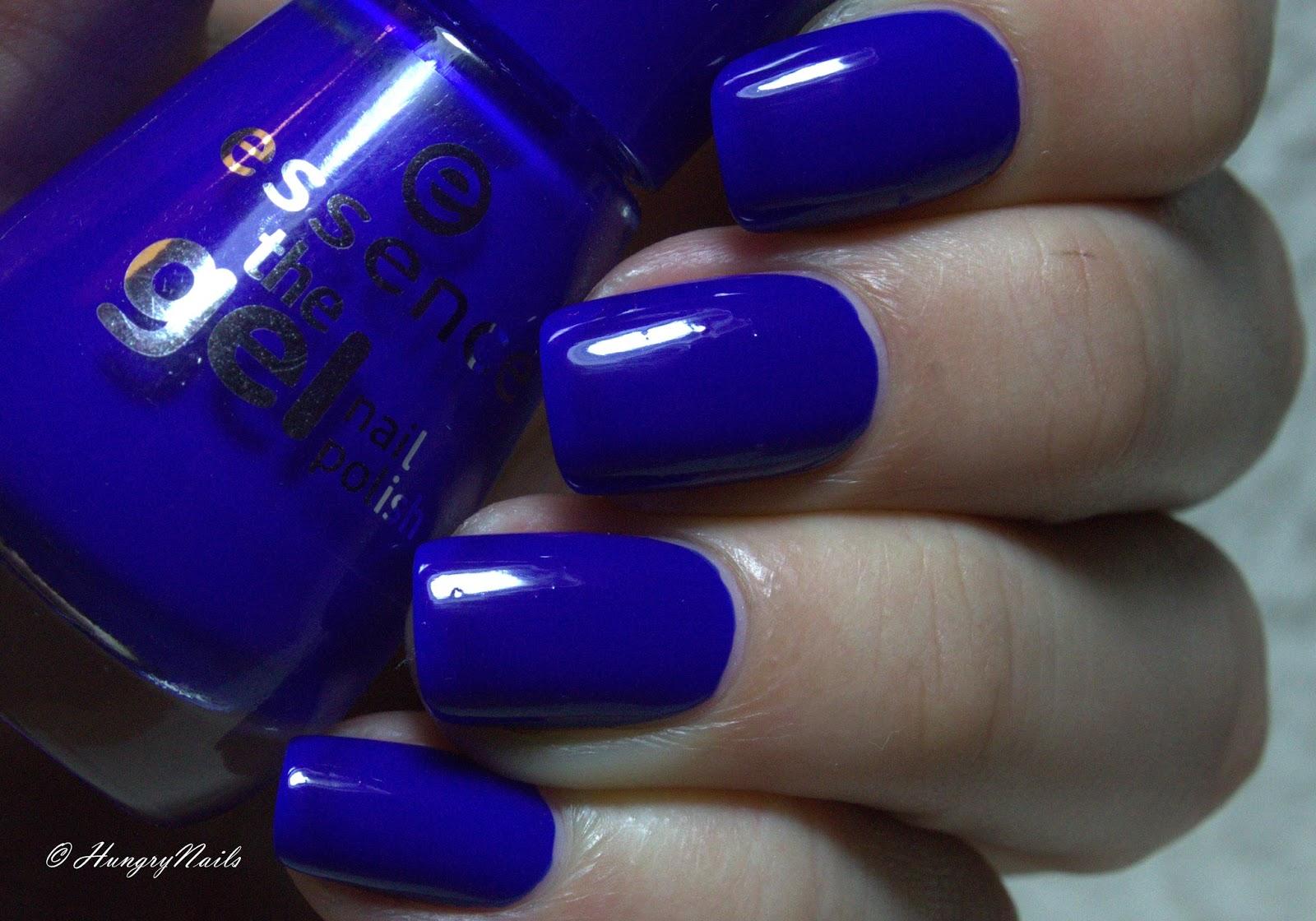 Blue friday essence electriiiiic hungrynails blog for Nagellack designs