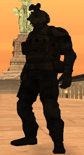Gta san andreas mod shadow company head from mw2 and body from ghost